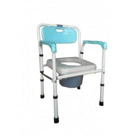FZK4221鐵製便器椅-軟墊