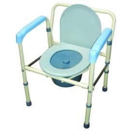 FZK4096鐵製便器椅-硬墊