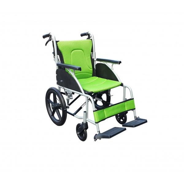 YH119-2鋁合金輪椅(小輪折背)