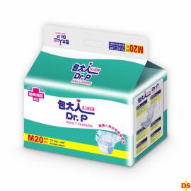 包大人成人紙尿褲-彩包  M號(20片)