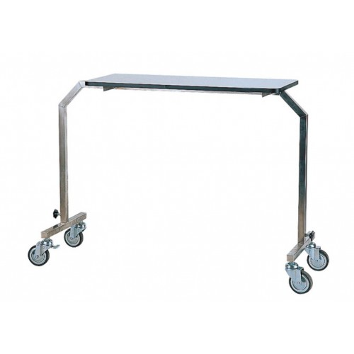 YH020 不鏽鋼床上桌(雙邊腳)