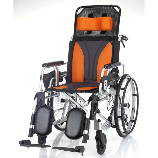 均佳JW-020 鋁合金躺式輪椅(仰躺型)