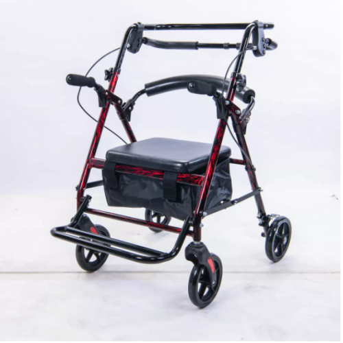 均佳JK-006 鋁合金四輪助行車/助步車(推車型)