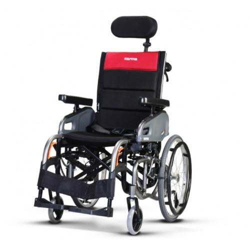 康揚鋁合金輪椅仰樂多2 VIP2 (空中傾倒型後躺與空中傾倒二合一)