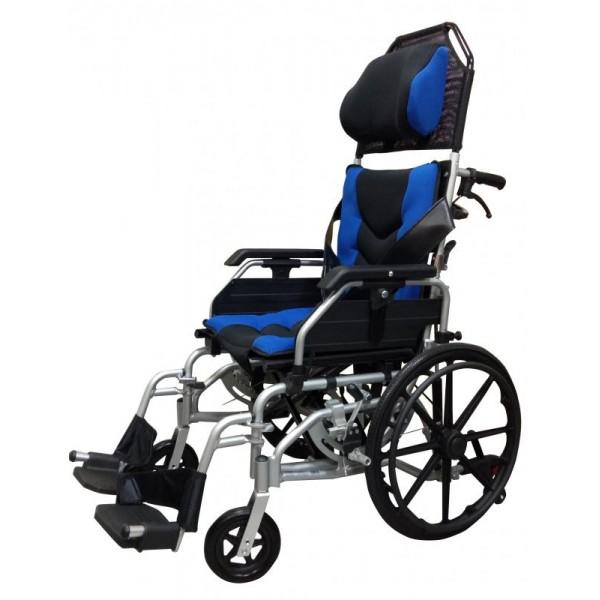 FZK-AC鋁合金空中傾倒型輪椅