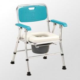 均佳 JCS-202 日式鋁合金收合便器椅