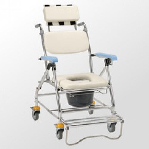 均佳 JCS-207 鋁合金背可調收合洗澡便器椅
