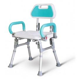康揚鋁合金洗澡椅(扶手可掀,可收合)