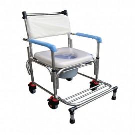 杏華不銹鋼掀手附輪洗澡椅  型號:ST021-5TB