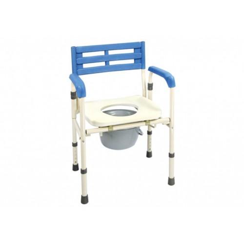 YH121-4 左右收合便器椅 (鐵製)