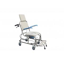 YH125-5不銹鋼空中傾倒便器椅