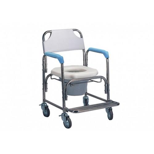 YH125 不鏽鋼洗澡椅(軟墊座)