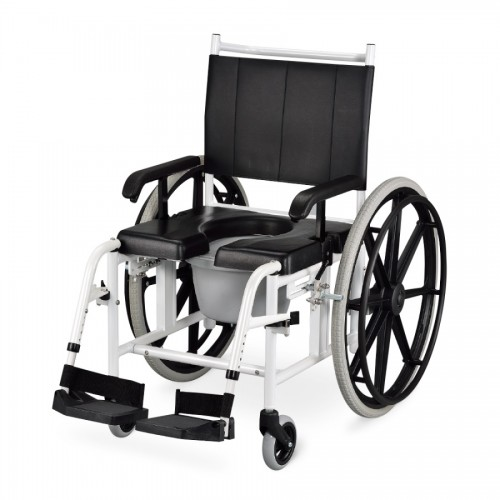 AMiGO 手推移位型 附輪洗澡馬桶椅