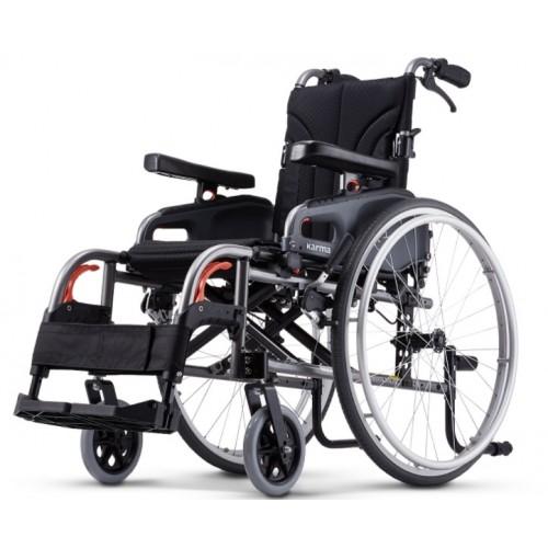 康揚鋁合金輪椅flexx變形金剛 KM-8522(利於移位型)