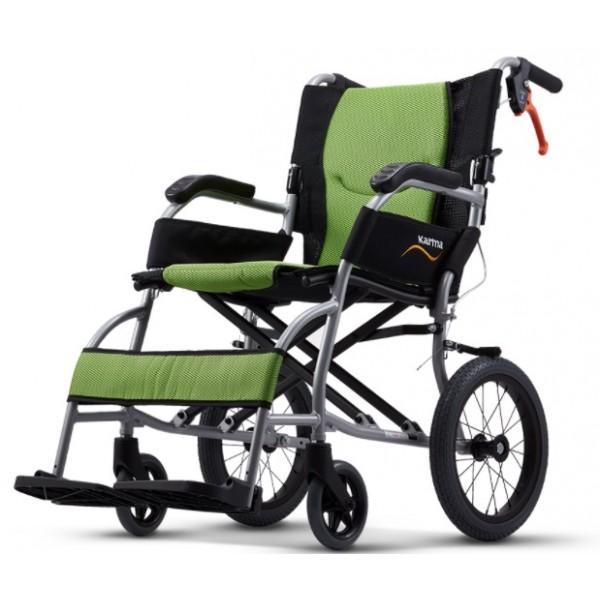 康揚鋁合金輪椅 旅弧KM2501(輕巧款)