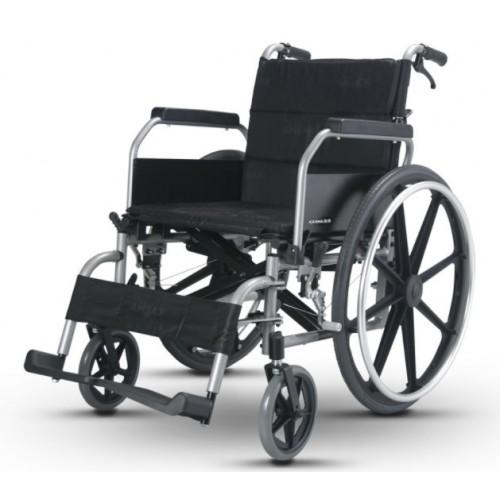 康揚鋁合金輪椅KM-8520(利於移位型)