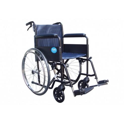 YH117 鐵製輪椅(皮面)