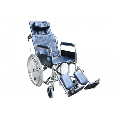 YH118 鐵製躺式輪椅(骨科腳)