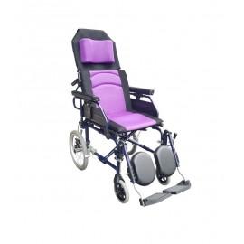 YH118-2 鋁製躺式特製輪椅(小輪)