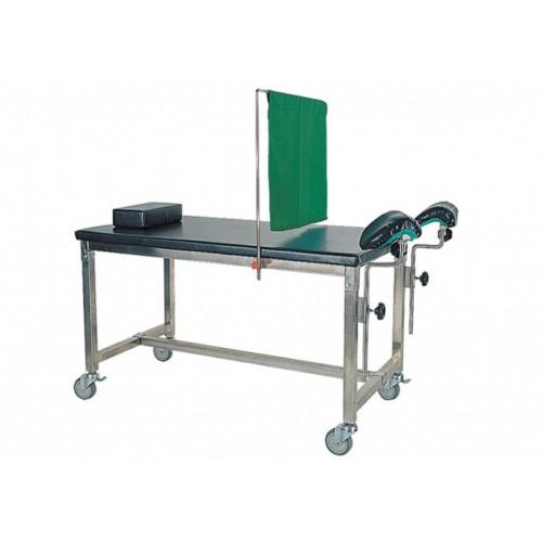 YH033 攜帶式婦科檢查床(不鏽鋼製)