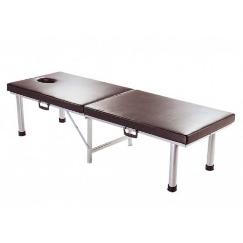 YH035-4 鋁合金折疊式診查床(挖洞)高60cm