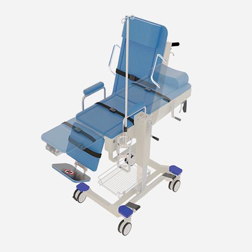 EZ-710坐臥水平移位搬運推床
