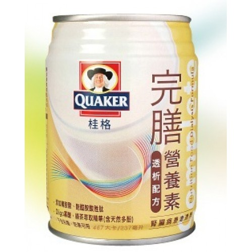 桂格-完膳營養素-透析配方(腎臟病適用)