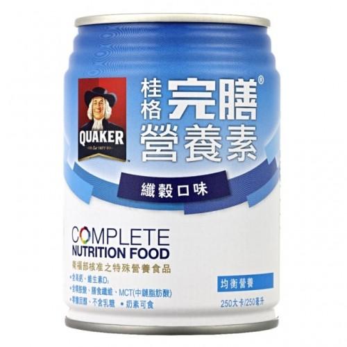 桂格-完膳營養素-纖穀配方