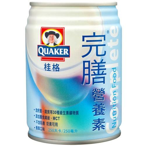 桂格-完膳營養素-香草口味